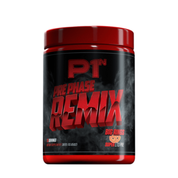 Phase One Nutrition Pre Phase Remix 25 Servings Pre-Workouts Phase One Nutrition Big Rings  (4478944280599)