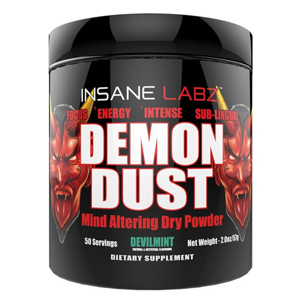 Insane Labz Demon Dust 50 Servings Sports Performance Recovery Insane Labz DevilMint  (1569145782295)