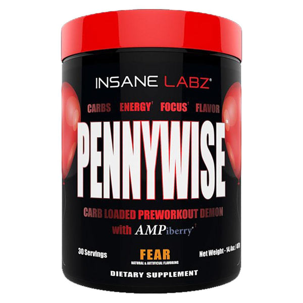 Insane Labz Pennywise 30 Servings Sports Performance Recovery Insane Labz Fear  (1577581510679)