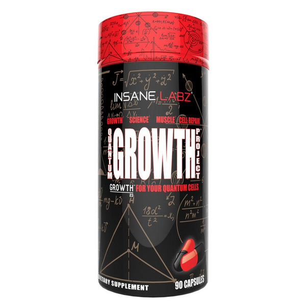Insane Labz Quantum Growth Project 90 caps Sports Performance Recovery Insane Labz  (1576927166487)
