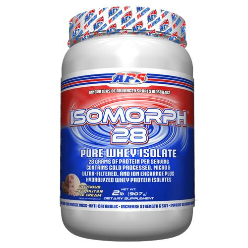 APS Nutrition Isomorph™ 28 - 2lbs. Protein APS Nutrition Neapolitan Ice Cream  (10831079555)