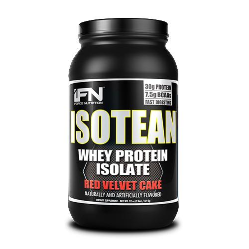 iForce Nutrition ISOTEAN™ Protein IFORCE 2lbs Red Velvet Cake  (9797634051)