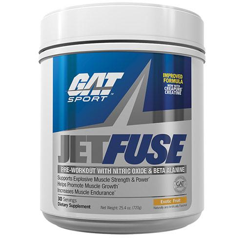 GAT JetFuse 30 Servings Pre-Workout GAT Exotic Fruit  (10974258371)