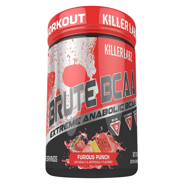 Killer Labs Brute BCAA 60SV Amino Acids Killer Labz FURIOUS PUNCH  (1493256011799)