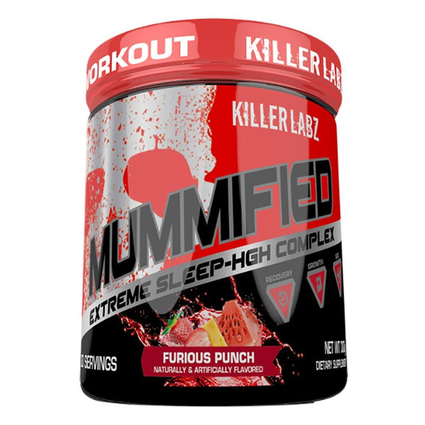 Killer Labz Mummified Furious Punch Specialty Health Products Killer Labz  (1493572321303)