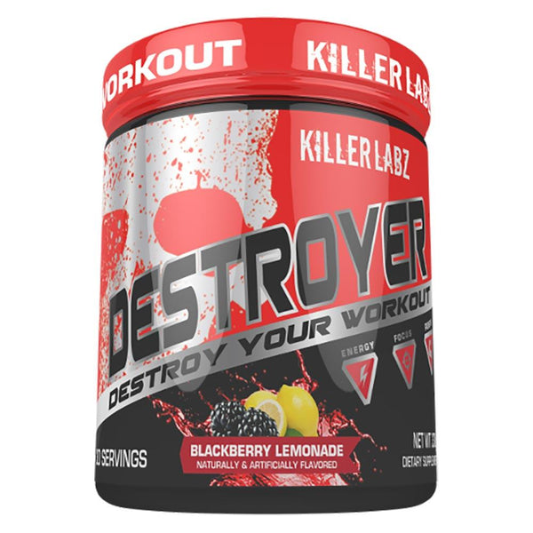 Killer Labz Destroyer 300G Sports Performance Recovery Killer Labz BLACKBERRY LEMONADE  (1492447887383)
