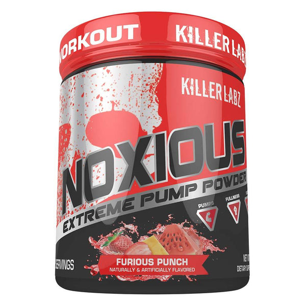 Killer Labs Noxious 240G Nitric Oxide Killer Labz FURIOUS PUNCH  (1492448772119)