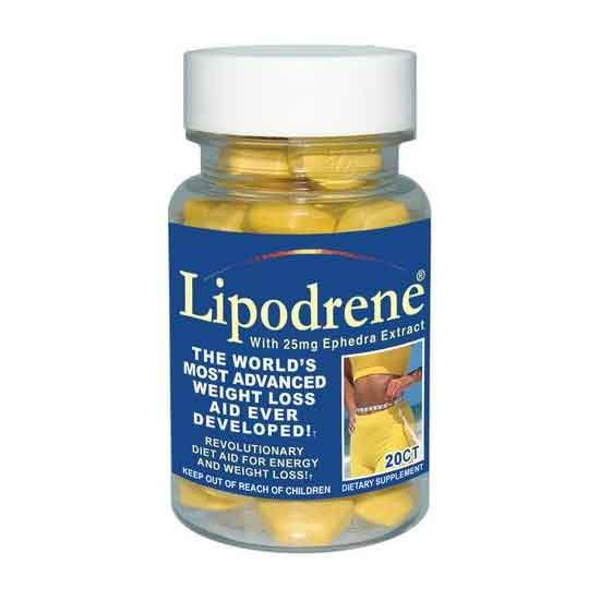 Hi-Tech Pharmaceuticals Lipodrene w/Ephedra 20ct Fat Burner Hi-Tech Pharmaceuticals  (1471574507543)