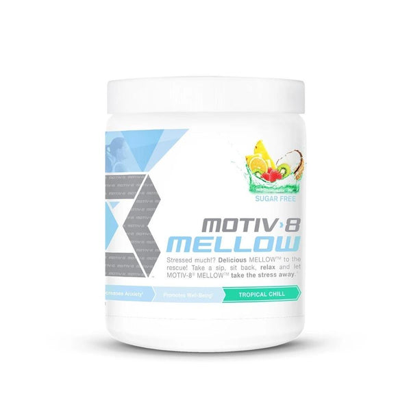 Motiv8 Mellow 30 Servings Specialty Health Products Motiv-8 Tropical Chill  (4496668721175)