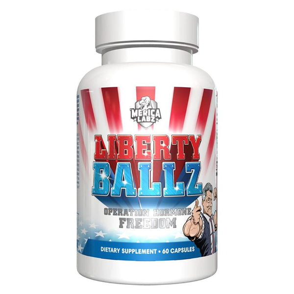 'Merica Labz Liberty Ballz 60 Caps Specialty Health Products 'Merica Labz  (3489175404567)