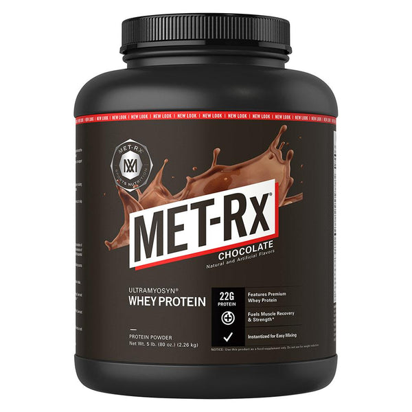 Met-Rx 100% Ultramyosyn Whey 5Lb Protein Powders Met-Rx Chocolate  (1586728468503)