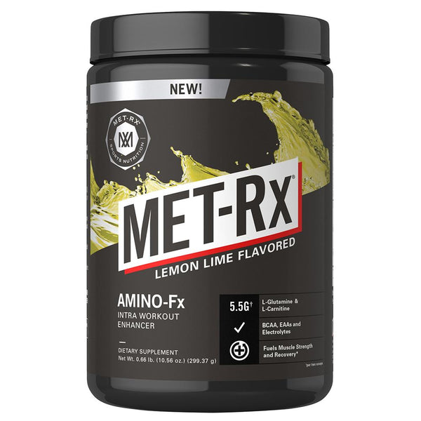 Met-Rx Amino-Fx 25 Serving Lemon Lime Amino Acids Met-Rx  (1568281657367)