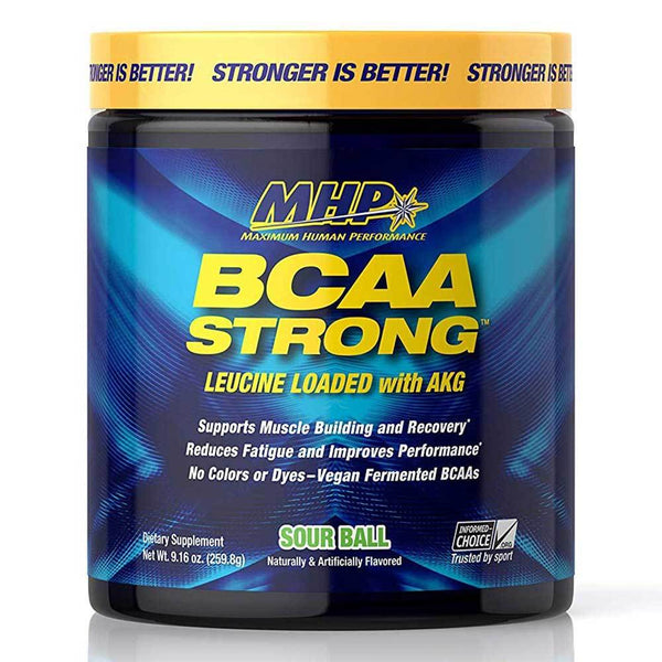 MHP BCAA Strong 30 Servings Amino Acids MHP Sour Ball  (1586690752535)