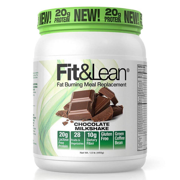 MHP Fit and Lean 10 Servings Meal Replacement Powders MHP Chocolate Milkshake  (1586779324439)
