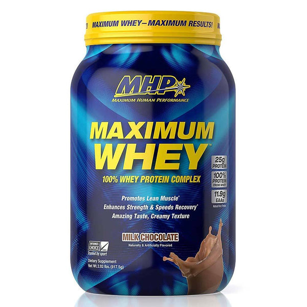 MHP Maximum Whey 2lb Protein Powders MHP Milk Chocolate  (3492051943447)