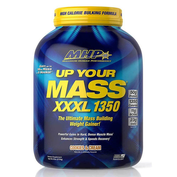 MHP Up Your Mass XXXL 1350 6.8lbs Protein Powders MHP Cookies and Cream  (1586683150359)