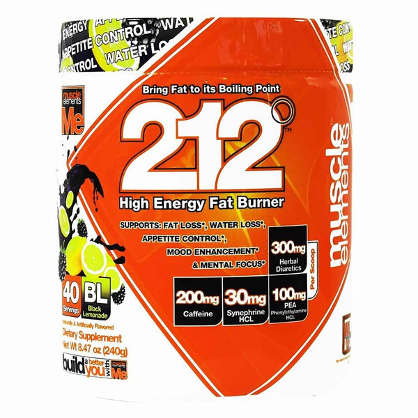 Muscle Elements 212 Black Lemonade 40 Servings 11/19 Expired Muscle Elements  (4199643283479)