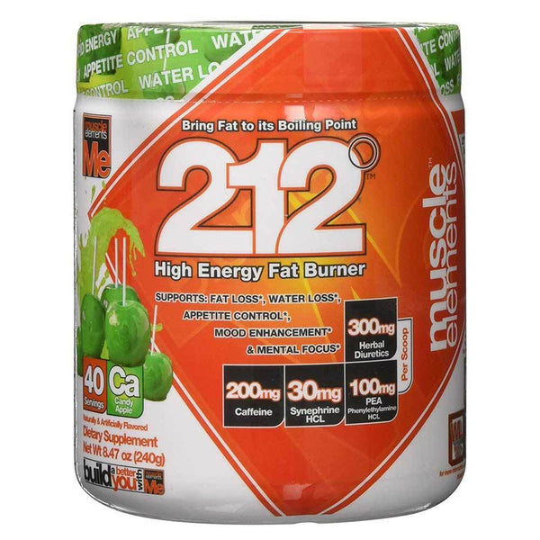 Muscle Elements 212 Candy Apple 40 Servings 11/19 Expired Supplement Warehouse  (4199643349015)