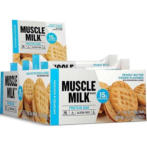 Cytosport Muscle Milk Blue Bar 12/Case Protein/Protein Bars CytoSport  (16919363587)