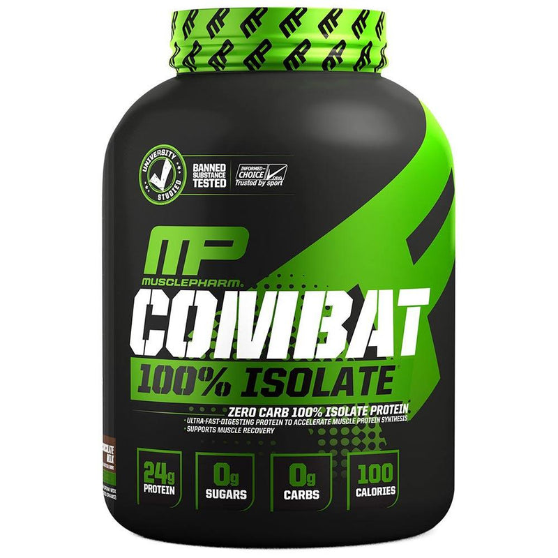 Muscle Pharm Combat 100% Isolate 5lb Protein Powders Muscle Pharm Chocolate Milk  (1551608807447)