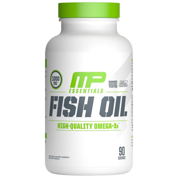 Muscle Pharm Fish Oil 90SG Essential Fatty Acids & - Oils Muscle Pharm  (1563522072599)