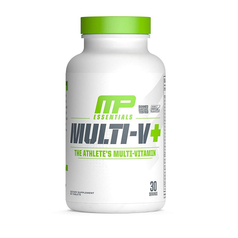 Muscle Pharm Multi-V+ Multivitamin 30 Servings Multi Vitamins Muscle Pharm  (1554552324119)