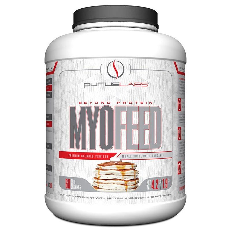 Purus Labs Myofeed 4.4 Lbs Protein Powders Purus Labs Maple Buttermilk Pancake  (1470392205335)