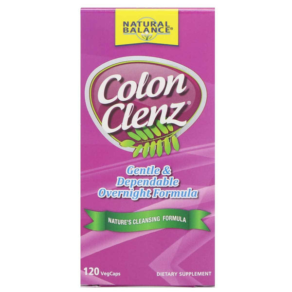Natural Balance Colon Clenz 120VC Digestive Health Natural Balance  (1381536235543)
