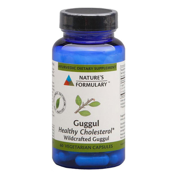 Nature's Formulary Guggul 60VC Vitamins & Minerals Nature's Formulary  (1577288728599)