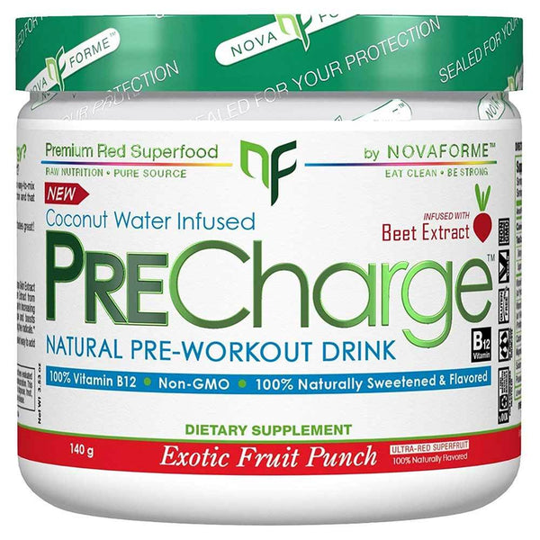 Novaforme PreCharge 14 Servings Exotic Fruit Punch 5/19 Expired NovaForme  (4199643742231)