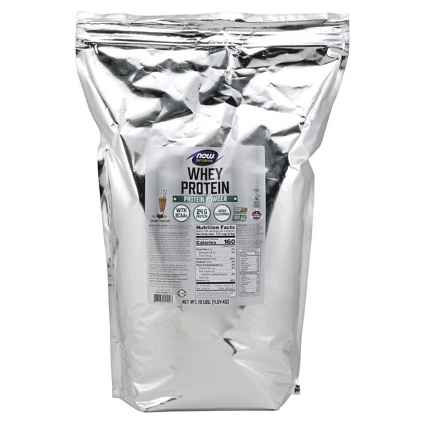 Now Foods Whey Protein 10 Lbs Protein Powders Now Foods Natural Chocolate  (1470759338007)