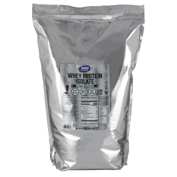 Now Foods Whey Protein Isolate 10 Lbs Protein Powders Now Foods Dutch Chocolate  (1470759206935)