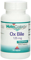 Ox Bile 125mg Supplements Nutricology  (10031566979)