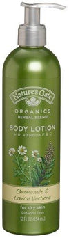 Chamomile and Lemon Verbena Lotion Personal Care Natures Gate