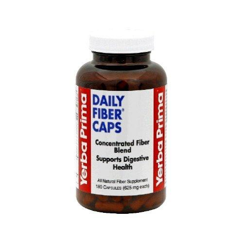 Daily Fiber Caps Supplements Yerba Prima  (10031995331)