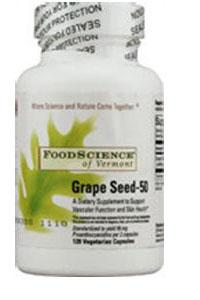 Grape Seed 50 mg Supplements Foodscience Labs  (10030932419)