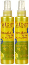 Hawaiian Dry Tanning Oil with SPF 15