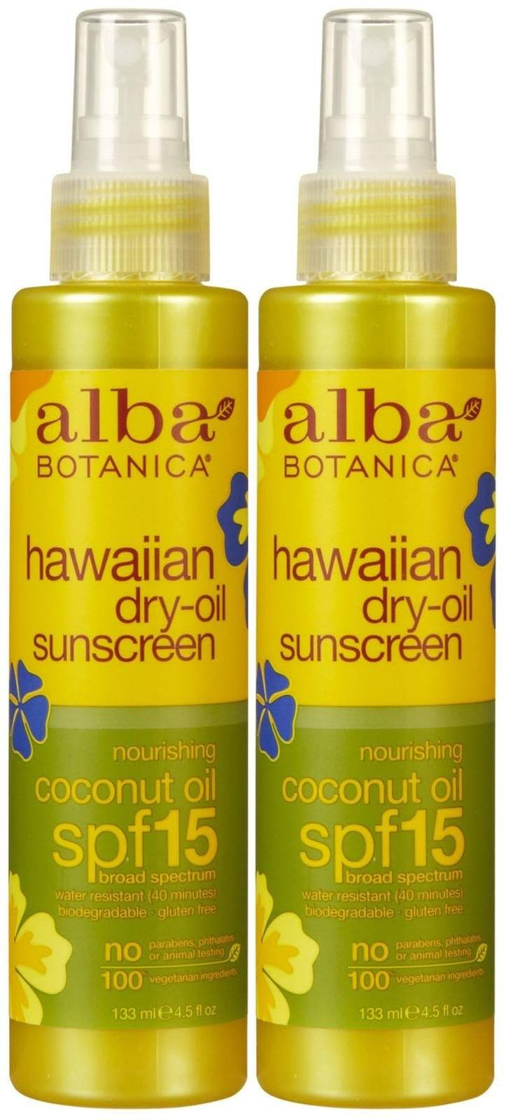 Hawaiian Dry Tanning Oil with SPF 15 Personal Care Alba Botanica  (10028671299)