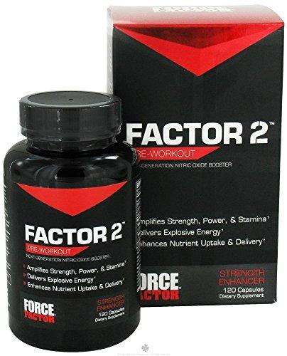 Factor 2 Pre-Workout Supplements Force Factor  (10030933763)