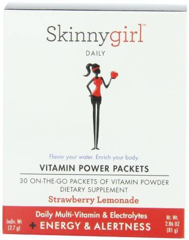 Vitamin Power Packets Energy and Alertness Supplements Skinnygirl  (10031766467)