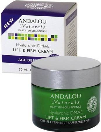 Hyaluronic DMAE Lift & Firm Cream Personal Care Andalou Naturals  (10030539715)