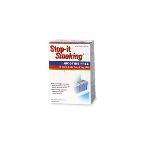Stop-it Smoking 2 Part Program Supplements Natra-Bio  (10031339523)
