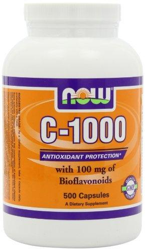 Vitamin C-1000 with Bioflavonoids Supplements Now Foods  (10031504707)