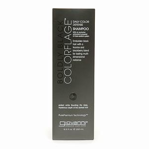 ColorFlage Boldly Black Color Defense Shampoo Personal Care Giovanni Organic Cosmetics  (10030983939)