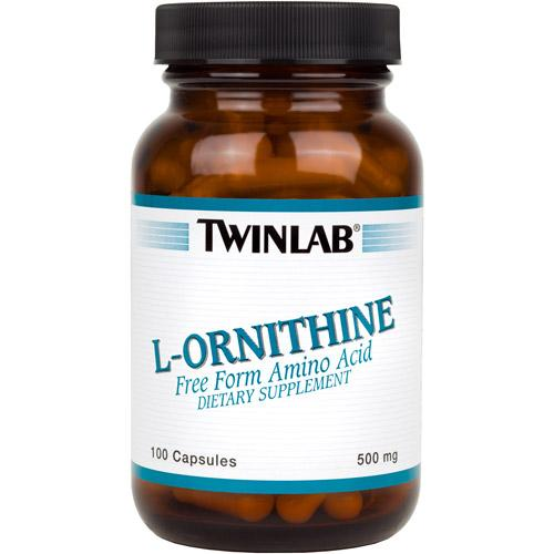L-Ornithine - 500 mg Sports Nutrition/Amino Acids Twinlab  (10031910659)