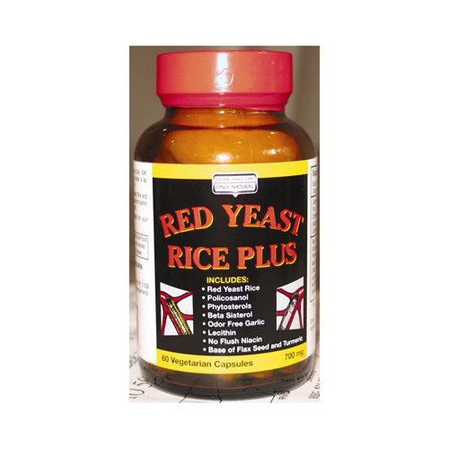 Red Yeast Rice Plus Supplements Only Natural  (10031596291)