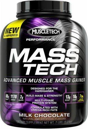 Mass-Tech Weight-Gain Formula Protein/Weight Gainers Muscletech  (10030045251)