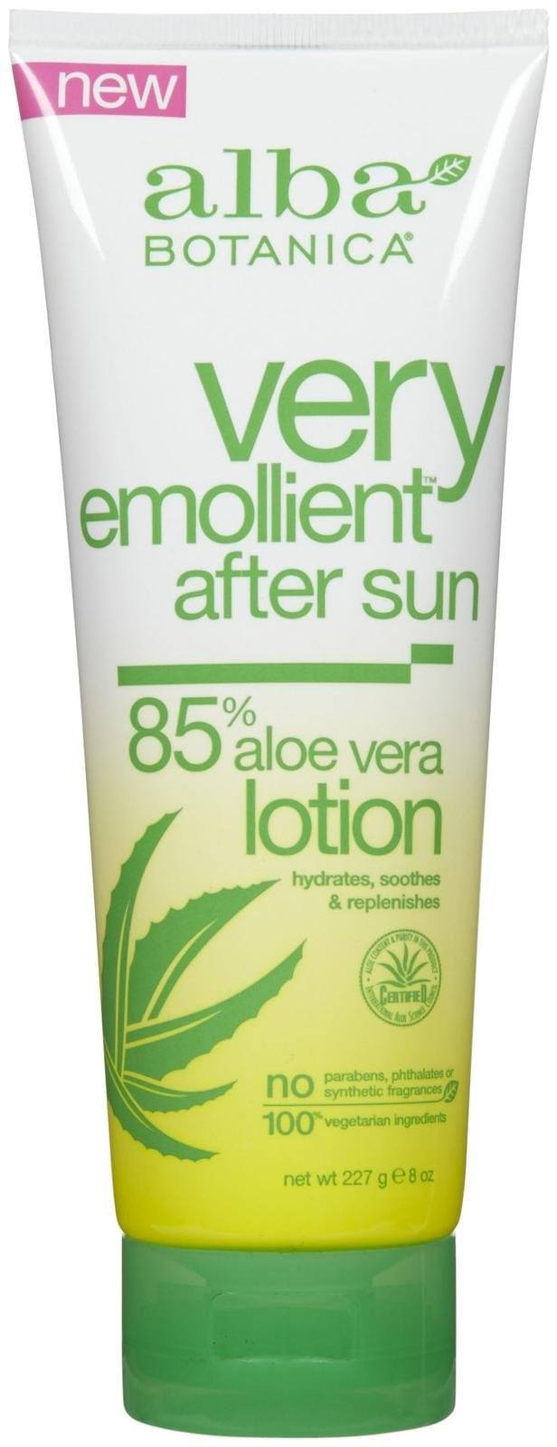 Very Emollient After Sun Lotion w/Aloe Vera Personal Care Alba Botanica  (10030506179)