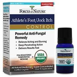 Athletes Foot/Jock Itch Control Supplements Forces of Nature  (10030935619)