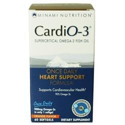 CardiO-3 Once Daily Heart Support Formula Health & Wellness/Remedies/Heart & Cardiovascular Minami Nutrition (GoL)  (10030015171)